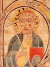 Portrait of Augustine of Canterbury