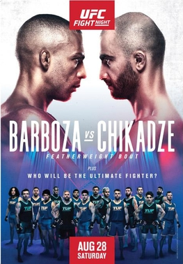 Official poster for UFC on UFC on ESPN Barboza vs. Chikadze.jpg