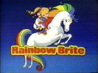 Rainbow Brite Anime Cartoon by Hallmark Cards