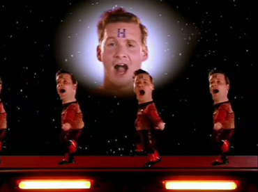 Would not red dwarf blue midget something is
