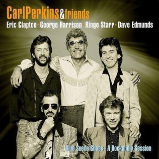 Carl Perkins Blue Suede Shoes Vinyl