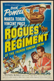 Rogues' Regiment movie