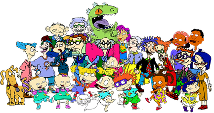 Some of the recurring and regular characters in Rugrats. - List of Rugrats characters