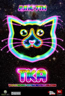 Picture of a game: Techno Kitten Adventure