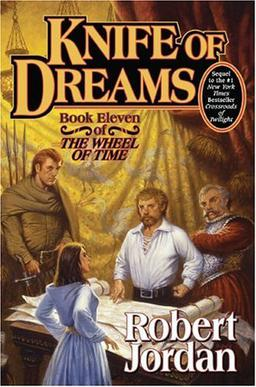Book Cover: [share_ebook] KNIFE OF DREAMS, Book 11 of The Wheel of Time