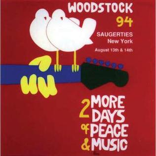 Image result for woodstock 94 flyers
