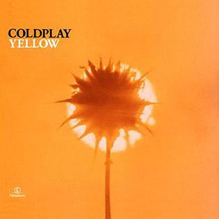 coldplay yellow cover art