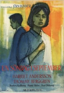 <i>A Sunday in September</i> 1963 Swedish film
