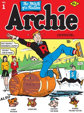 Cover to Archie #1 (vol. 1) (Winter 1942)