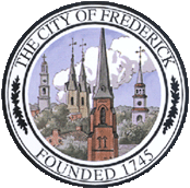 Official seal of Frederick, Maryland