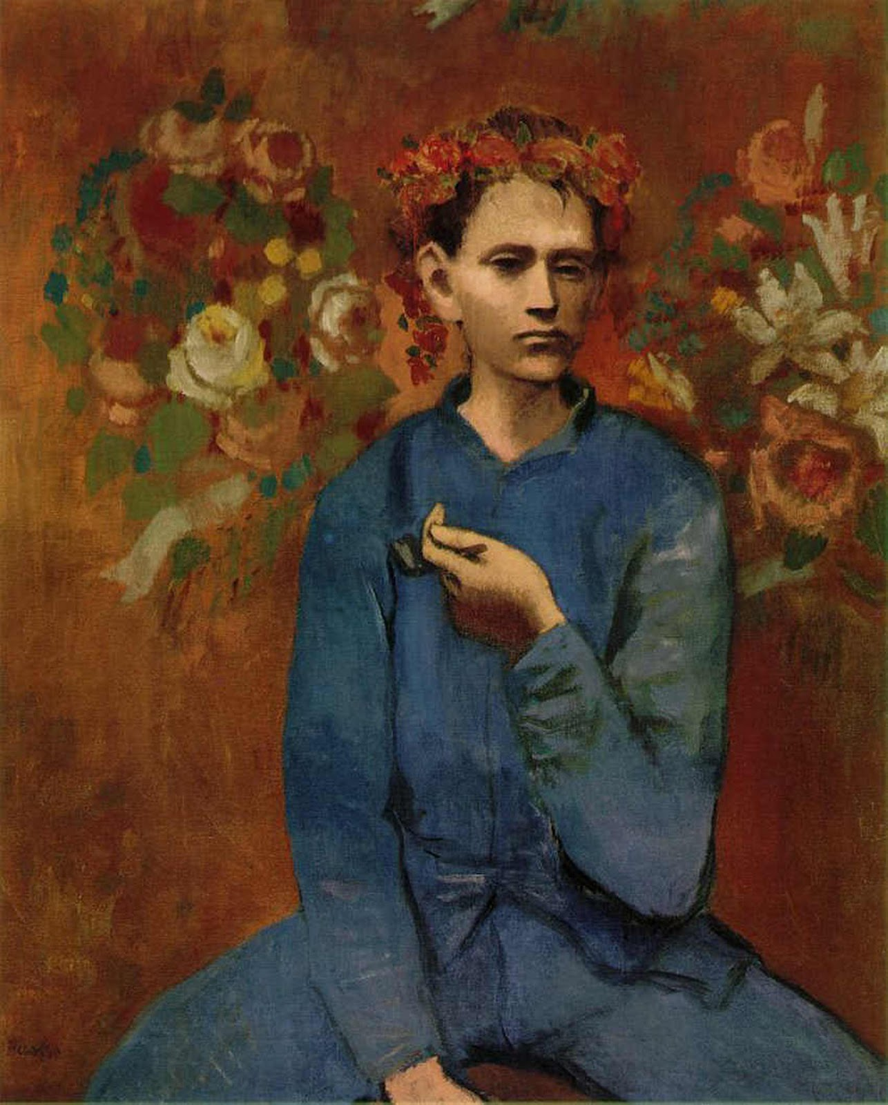 "Pablo Picasso ""Garcon A La Pipe (Boy With A Pipe)"" (1905)"