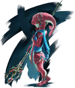 Mipha Character in The Legend of Zelda game series
