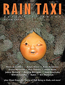 Rain Taxi (magazine) Fall 2011 cover.jpg