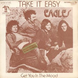 Titelbild des Gesangs Take It Easy von Eagles
