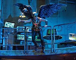 Hawkman as he appears in Smallville.