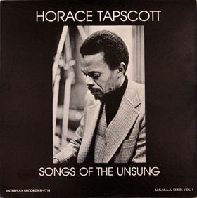 <i>Songs of the Unsung</i> Solo album by Horace Tapscott