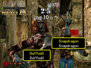 The Typing of the Dead screenshot
