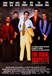Film poster for The Usual Suspects