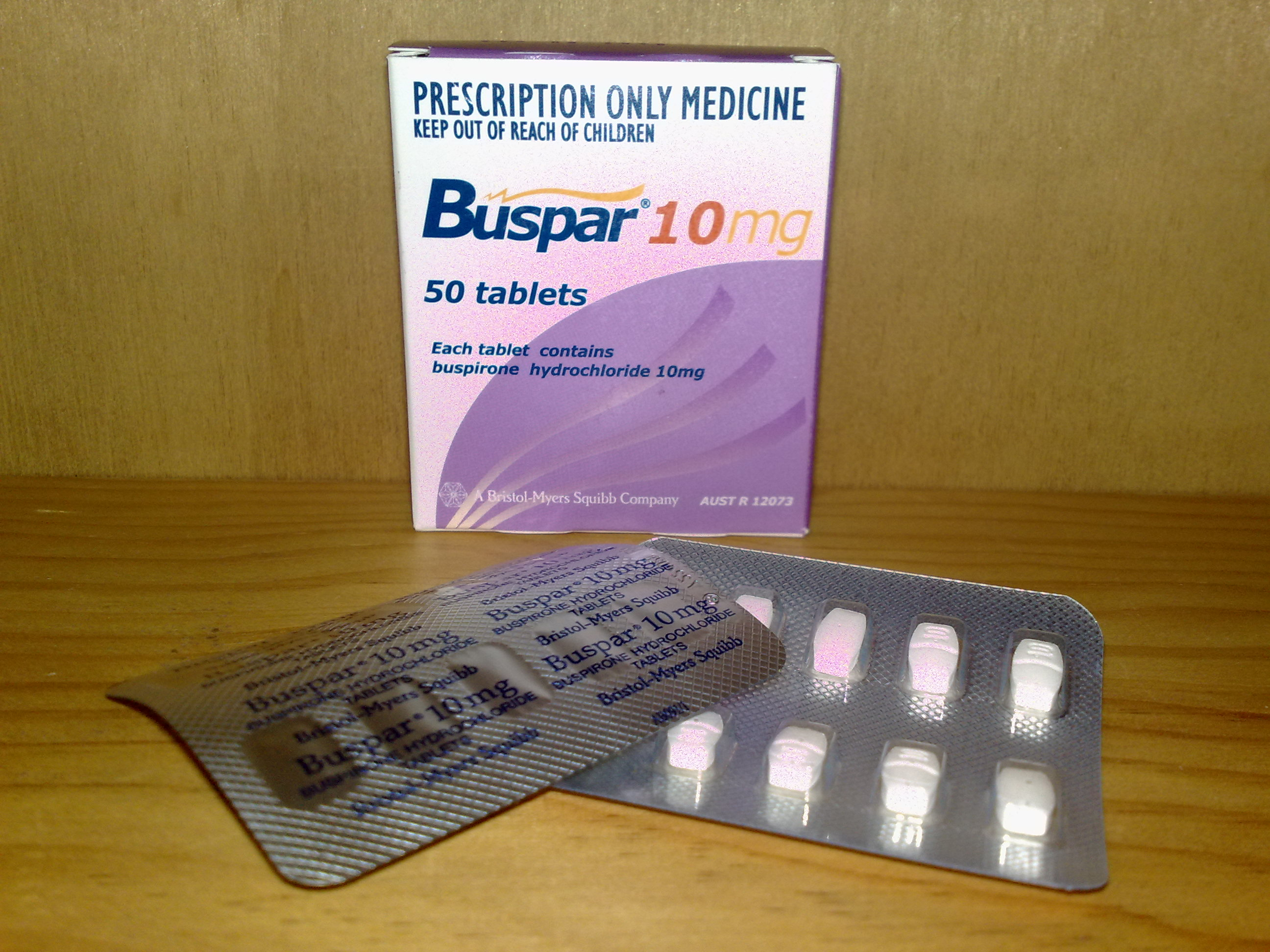 File:Buspar 10 mg.jpg - Wikipedia