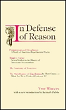 <i>In Defense of Reason</i> 1947 works of literary criticism