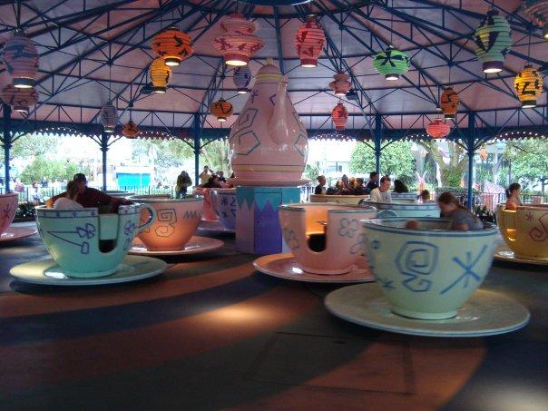 disney world magic kingdom mad tea party