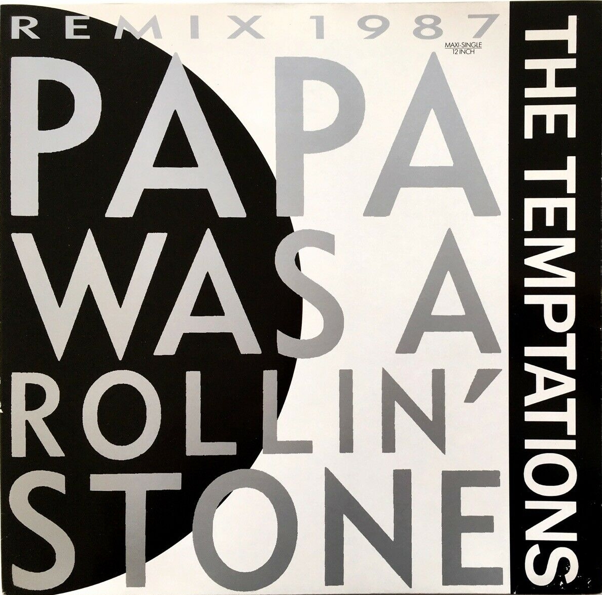 File:Papa Was a Rollin' Stone Remix 1987 by The Temptations jpg