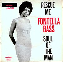 Rescue Me (Fontella Bass song) 1965 single by Fontella Bass