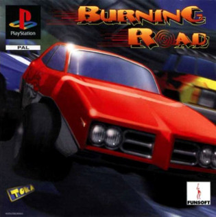 <i>Burning Road</i> 1996 video game