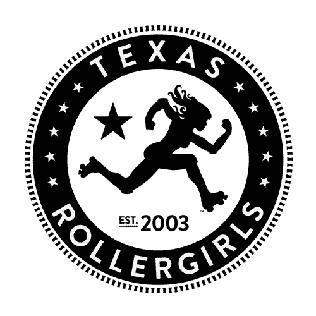 Texas Rollergirls womens flat track roller derby league