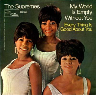 My World Is Empty Without You 1965 single by the Supremes