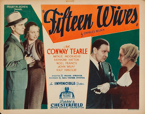 <i>Fifteen Wives</i> 1934 film by Frank R. Strayer