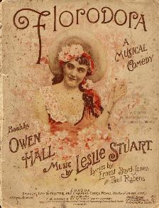 "Sheet music for ""Florodora"", 1899"
