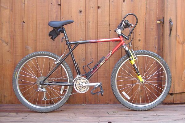 Bikes Gt 1993 Cirque GT quot triple triangle quot frame