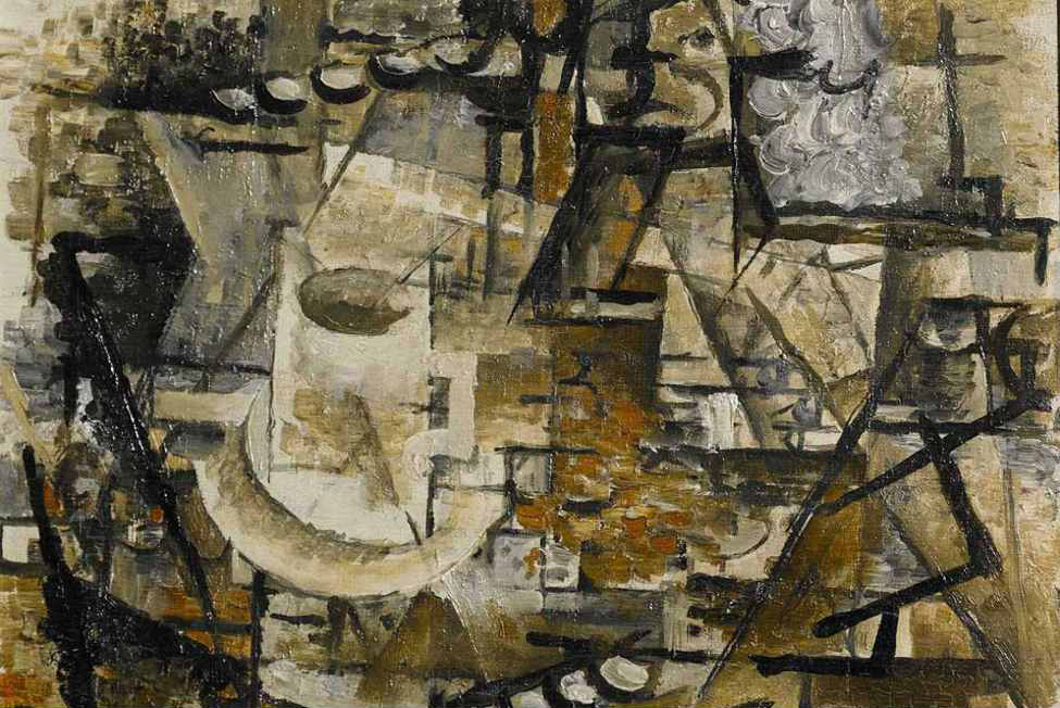 file georges braque 1911 la tasse the cup oil on canvas 24 1 x