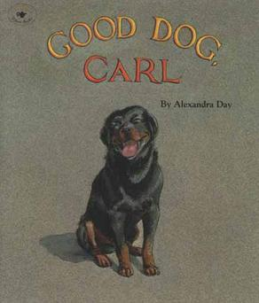 Image result for good dog carl book cover