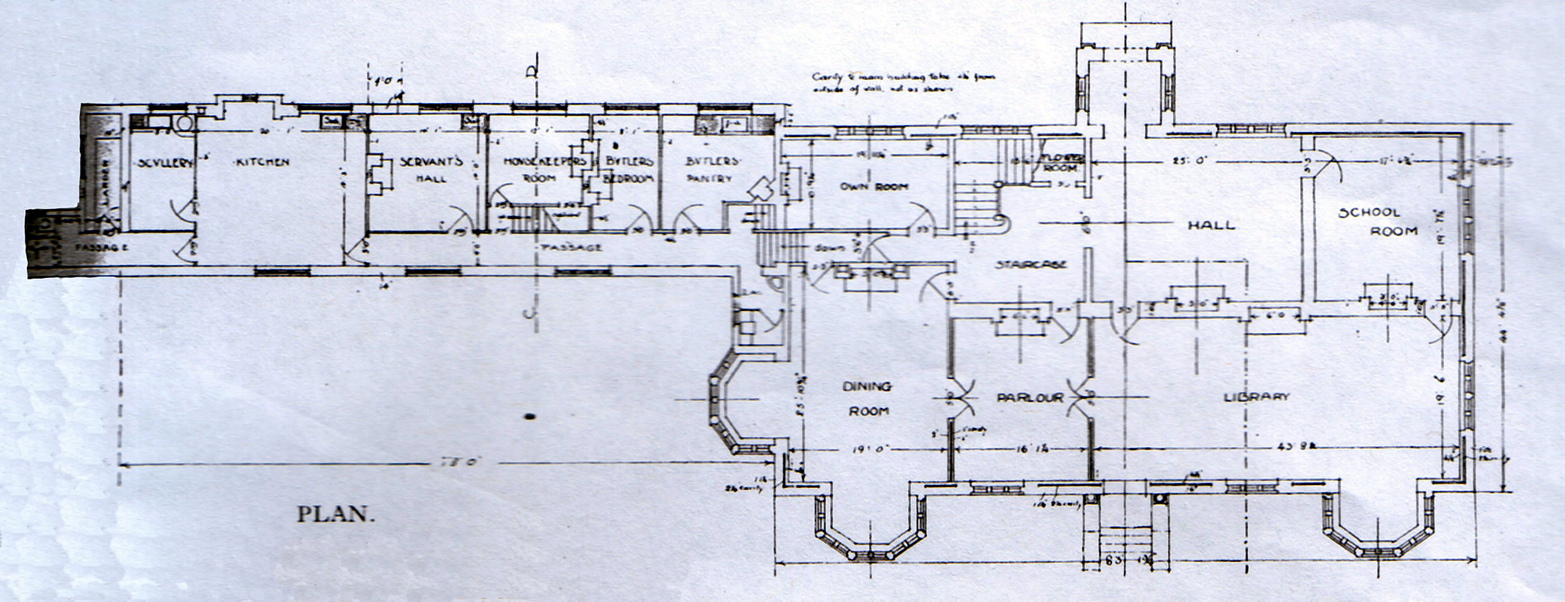 File horwood house plan jpg wikipedia for Blueprint home plans