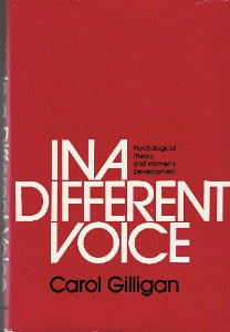 in a different voice gilligan bookjpg author carol gilligan