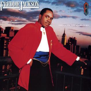 <i>Just Like the First Time</i> 1986 studio album by Freddie Jackson