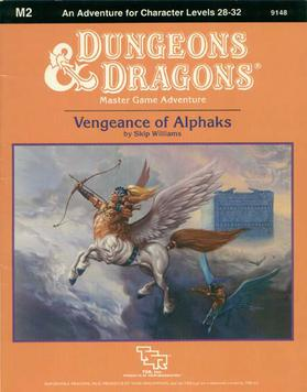 Cover of M2 Vengeance of Alphaks