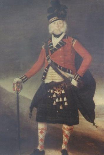 Ranald Mackinnon Portrait In Th Reg T Uniform