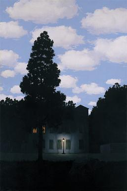René Magritte - The Empire of Light, 1949-1954