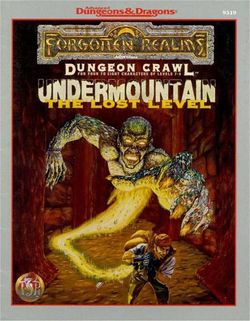 Cover of Undermountain: The Lost Level
