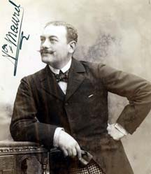 French baritone Victor Maurel, creator of the role of Tonio