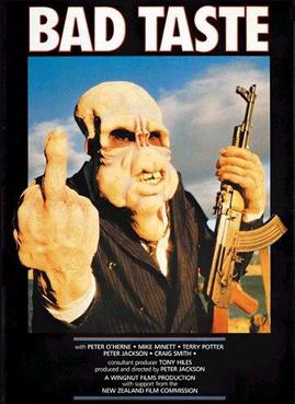 Bad Taste (1987) movie poster