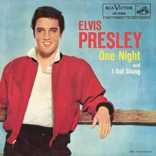 One Night (Elvis Presley song) 1956 single by Elvis Presley