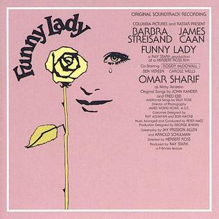 <i>Funny Lady</i> (soundtrack) 1975 soundtrack album by Barbra Streisand