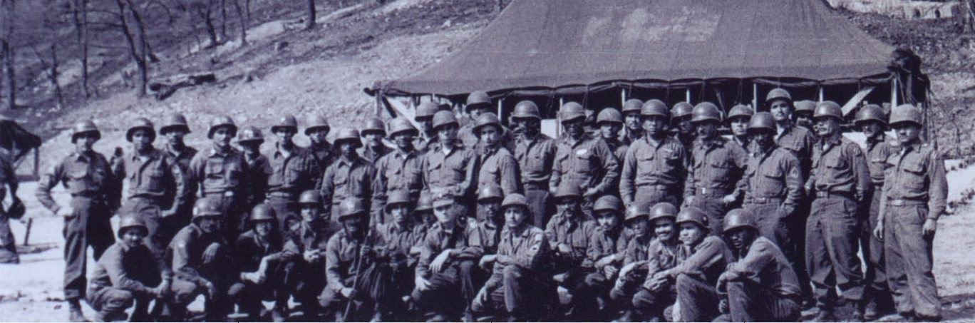 2nd Platoon Company C In 1952