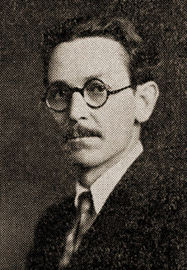Haim Kantorovitch, chief theoretician of the Militant faction