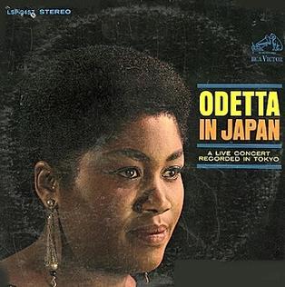 <i>Odetta in Japan</i> 1966 live album by Odetta