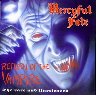 <i>Return of the Vampire</i> 1992 compilation album by Mercyful Fate